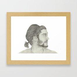 Zayn Malik Framed Art Print