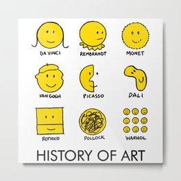 History Of Art Metal Print