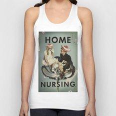 Home Nursing Unisex Tank Top