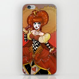 The Red Queen iPhone Skin