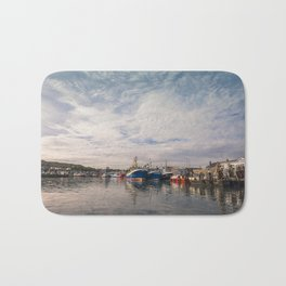 Irish landscape in Howth Bath Mat