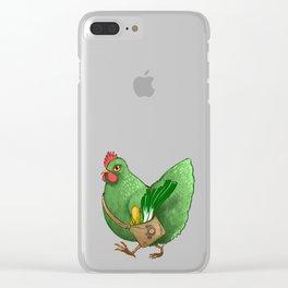Poupoule Clear iPhone Case