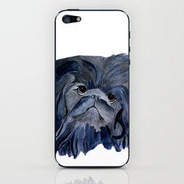Pekingese Dog love... iPhone Skin