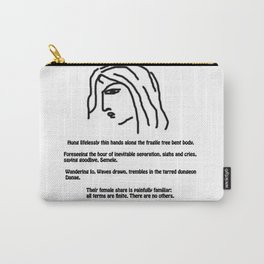 Women's fate Carry-All Pouch
