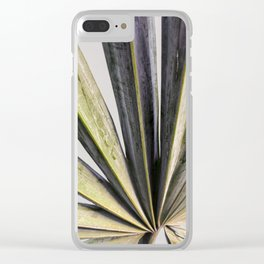 Tropical Leaf Photography | Green | Botanical | Dream Pattern | Art Print | Home Decor Clear iPhone Case