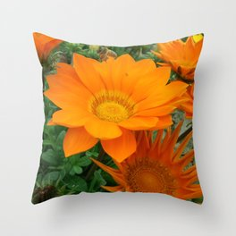 FLOR NATURAL Throw Pillow