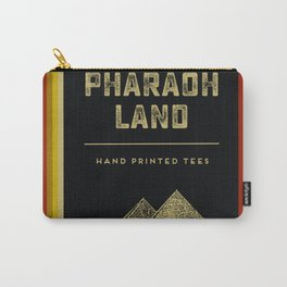 Pharaoh Land - Hand printed tees Carry-All Pouch