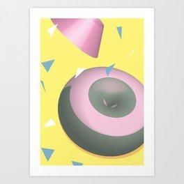 Geometric Calendar - Day 31 Art Print