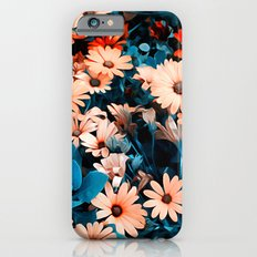 Colourful Daisies Pattern Slim Case iPhone 6s