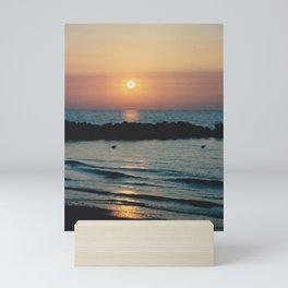 Sunset Ocean Bliss #1 #nature #art #society6 Mini Art Print