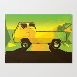 Ventura Ave. Canvas Print