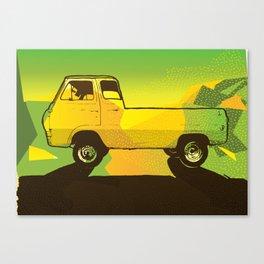 Ventura Ave. Canvas Print