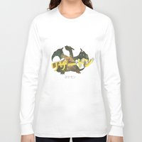charizard Long Sleeve T-shirts featuring Charizard by Thomas Official
