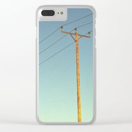She's Electric Clear iPhone Case