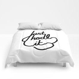Just hodl it   [black] Comforters