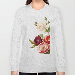 romantic floral design Long Sleeve T-shirt