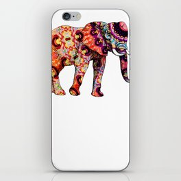 Love Elephant Design Elephant Gift iPhone Skin