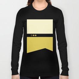 Data - Minimalist Star Trek TNG The Next Generation - Enterprise 1701 D - startrek - Trektangles Long Sleeve T-shirt