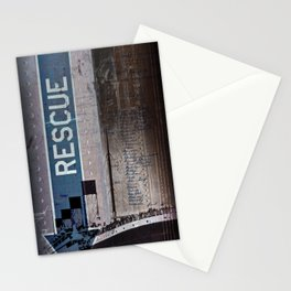 No Rescue Stationery Cards
