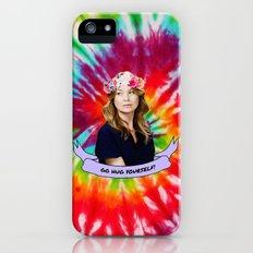 GO HUG YOURSELF iPhone (5, 5s) Slim Case