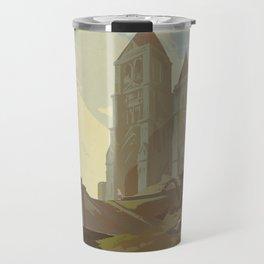 Temple of Time Travel Mug