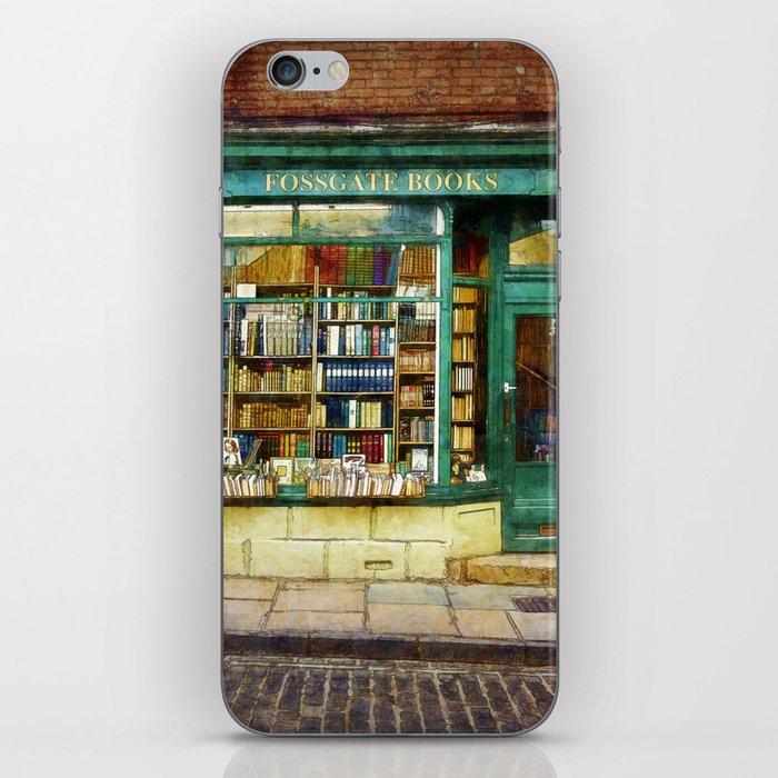 Fossgate Books iPhone Skin