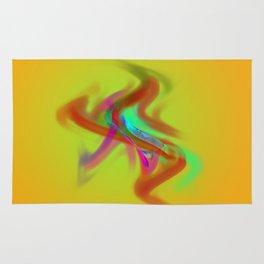 el placa de colore Rug