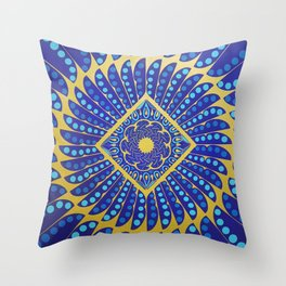 The Power of Creation Throw Pillow
