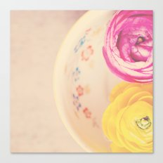everyone needs a little cup of sunshine ...  Canvas Print