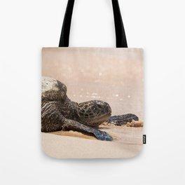 Hawaii- Sea Turtle Tote Bag