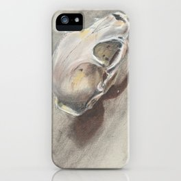Bobcat Skull iPhone Case