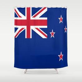 Flag of new zealand 3 -zealand,New Zealander,Kiwi,wellington,Auckland. Shower Curtain