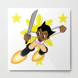 Astro Boy Bonifacio Metal Print