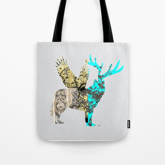 FabCreature · Steppenwolf 3 Tote Bag
