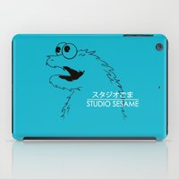 sesame street iPad Cases featuring Studio Sesame by le.duc