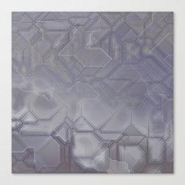 future fantasy steel Canvas Print