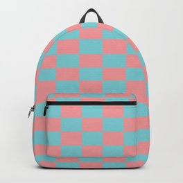 Pink spring pattern Backpack