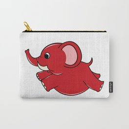 Plumpy Elephant Carry-All Pouch