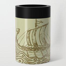 Viking ship Can Cooler