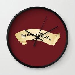 My Dearest, Angelica Wall Clock