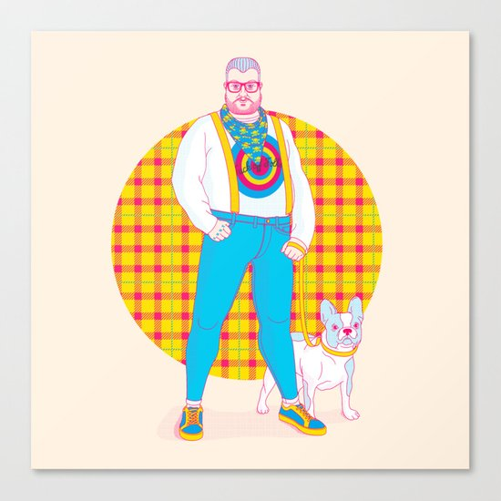 Henry the Hip Canvas Print