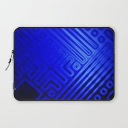 Blue Grid Laptop Sleeve