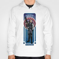 winter soldier Hoodies featuring Bucky the Winter soldier by Studio Kawaii