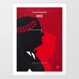 No1043 My Vice minimal movie poster Art Print