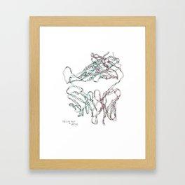 Fur Elise Fold Framed Art Print