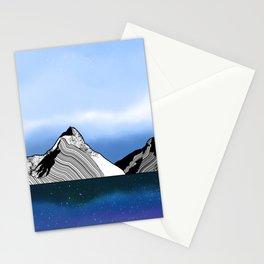 Mitre Peak Stationery Cards