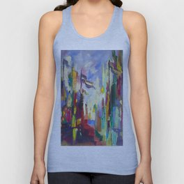 A Day in Chicago Unisex Tank Top