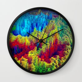 Daily Render #2: Pixel Storm Wall Clock
