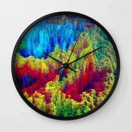 Daily Render #2: Pixel Storm Wall Clock