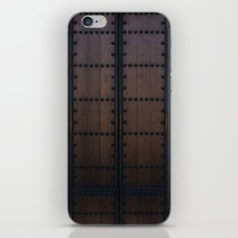 The Barrel by Brian Vegas iPhone Skin